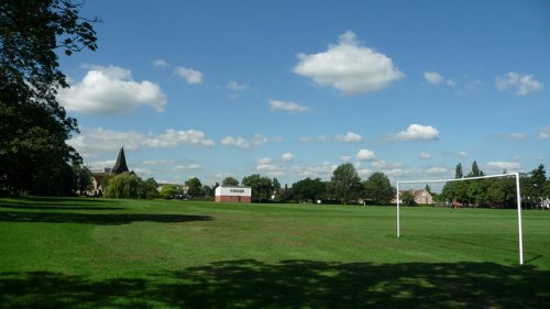 west byfleet recreation ground