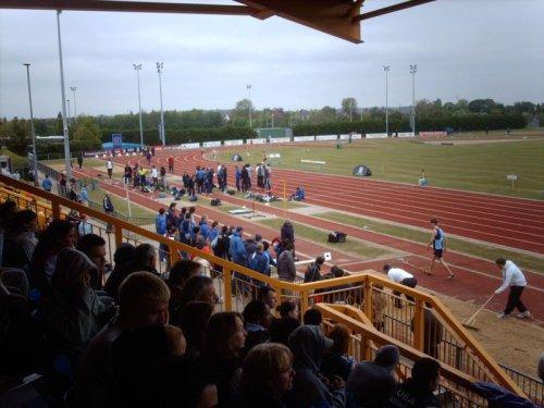 Bedford International Athletic Stadium Barkers Lane