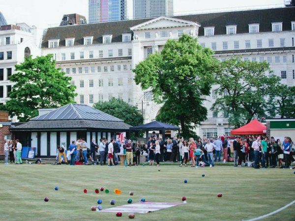London Totally Bowled Over - Finsbury Square Bowling Green Goes Online