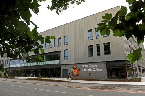 Notre Dame Catholic Sixth Form College - St. Mark's Avenue Leeds ...