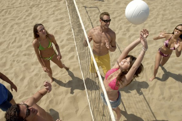 Life's a Beach: Beach Volleyball Courts in London